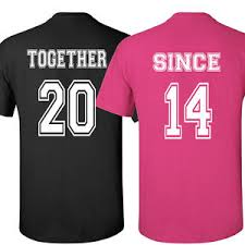 valentines day t shirts t shirts together since shirt s day gift