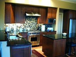 Countertops With Oak Cabinets Kitchen Trendy Kitchen Colors With Oak Cabinets And Black
