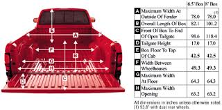 Ford F 150 Truck Bed Dimensions 2001 Dodge Ram Pickup Dimensions
