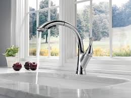 Delta Kitchen Faucet Single Handle Biscuit Centerset Delta Linden Kitchen Faucet Single Handle Pull