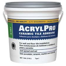home depot black friday armstrong once done floor cleaner custom building products acrylpro 3 1 2 gal ceramic tile adhesive