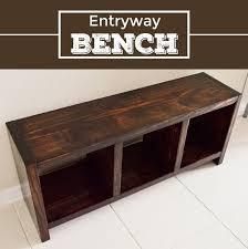 entryway bench diy entryway bench hometalk