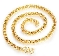 chain necklace snake images 18k gold plated necklace men jewelry snake chain necklace jpg