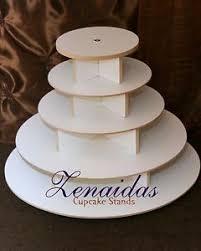 5 tier cupcake stand cupcake tower 5 tier white melamine wood wedding cupcake