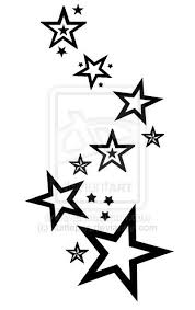 52 best star tattoo templates images on pinterest drawing font