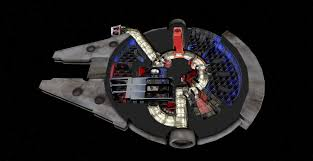 Millennium Falcon Floor Plan by Take A Virtual