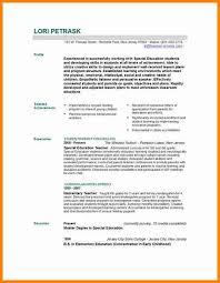 teacher resume format experienced teacher resume teacher resume