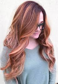 golden apricot hair color 40 ombre hair color and style ideas
