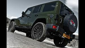 cj jeep wrangler a kahn design jeep wrangler cj 300 military green motor1 com photos