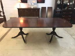 henkel harris dining table mahogany handmade u2013 jenkins antiques