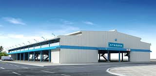 prefab building for industrial use for airports for
