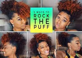 easy u0026 cute puff styles big with bangs frohawk u0026 more