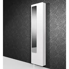 White Shoe Cabinet With Doors by White Hi Gloss Rotating Shoe Storage With Mirror 1186 84 189 95