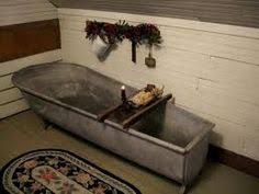 Antique Galvanized Bathtub Antique Galvanized Bathtub Yummmm Old Is The New Style