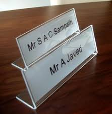 Desk Plates For Offices Wood Desk Sign Personalized Desk Name Plate Employee Gift