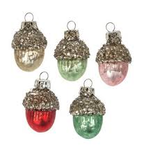 christmas ornament sets glass ornaments singles and sets