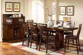 homelegance everett counter height dining set cherry d5381 36c