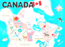 Edmonton Canada Map by Map Of Canada Also Map Canada Puzzle Evenakliyat Biz