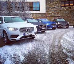 xc90 test drive volvo xc90 fleet at volvo winter event in berchtesgarden 2016
