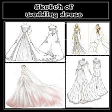 sketch of wedding dress android apps on google play