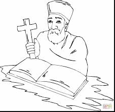 fantastic red cross coloring pages with cross coloring page