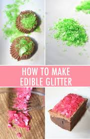 edible gliter how to make edible glitter