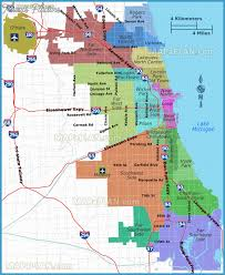 chicago tourist map chicago map tourist attractions travel map vacations