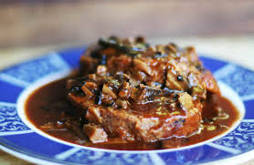 mushroom gravy its not easy tuscan meatloaf with mushroom sauce recipe simplyrecipes com