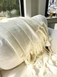 max studio home decorative pillow max studio home throw blanket white mercari buy u0026 sell things