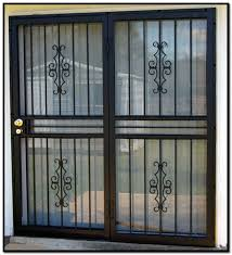How To Secure Patio Doors Burglar Bars For Sliding Glass Doors Miketechguy