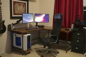 custom built computer desks living room surprising splendid custom made computer desks