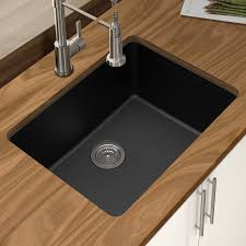 Winpro Granite Quartz  X  Single Bowl Undermount Kitchen - Single undermount kitchen sinks