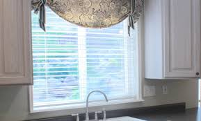 valance ideas for kitchen windows blinds wonderful kitchen window valances wonderful valances