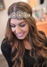 beaded headband dottie couture boutique boho beaded headband black 16 00