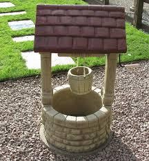 borderstone wishing well garden ornament gardensite co uk