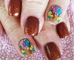 25 great thanksgiving nails ideas stylefrizz