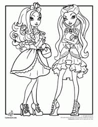High Characters Coloring Pages Ever After High Coloring Pages Woo Jr Kids Activities by High Characters Coloring Pages