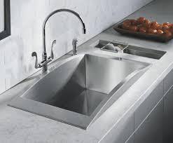 Sink For Kitchen Kohler Swerve 14 Stainless Steel Kitchen Sink K 3153