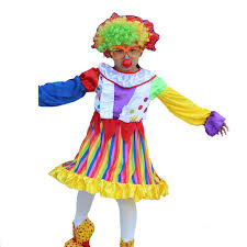 clown costumes 2018 children colorful circus clown costume kids stage