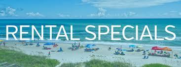 coast rental specials