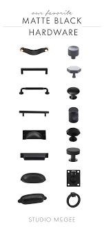 is black hardware in style matte black hardware up studio mcgee matte black
