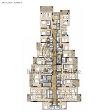 4 Bedroom Apartment Floor Plans Burj Khalifa 4 Bedroom Apartment Floor Plan