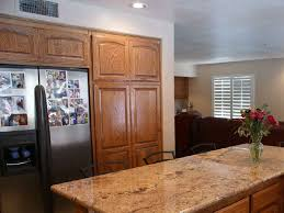 Kitchen Cabinets Granite Countertops by Golden Oak Cabinets With Granite Countertops Kitchen Someday