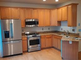 before kitchen cabinets oak to black houzz kitchen