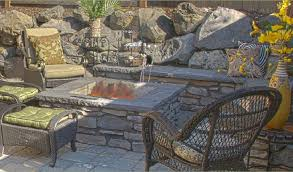 Building Stone Patio by Stone Furniture U2022 Nifty Homestead