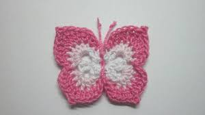 how to make a lovely crochet butterfly diy crafts tutorial