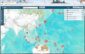 Global Incident Map Esri Thailand Flood Map Geo Information And Planning