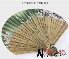 custom fans ms 7 8 inches folding fan order custom customized fan fan pattern