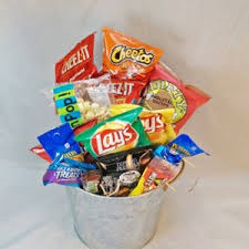junk food gift baskets junk food basket in wilmington de ramones flowers