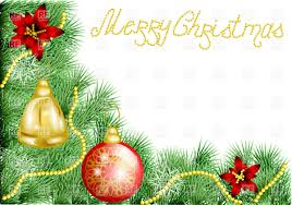 Christmas Tree Picture Frames Christmas Frame For Greeting Card Vector Image 27428 U2013 Rfclipart